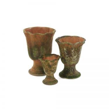 Aged Acanthus Urn/Planter