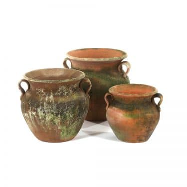 Aged Allende Urn/Planter