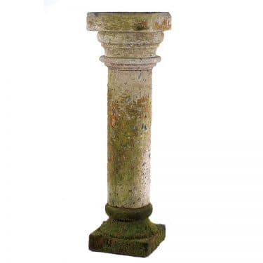 Hand Carved Limestone Tuscan Columns