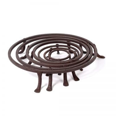Hand Forged Iron Trivet