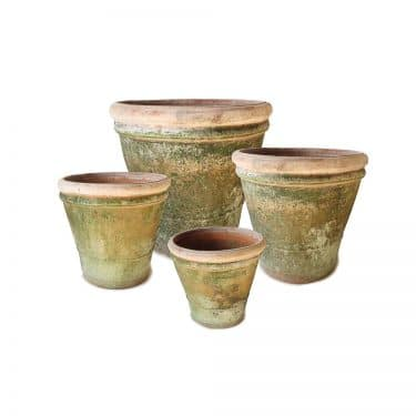 Set Of 4 Large Italian Planters
