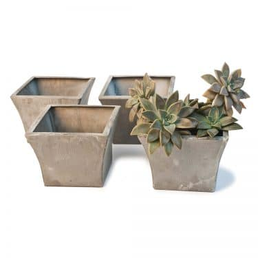 Set Of 4 Zinc Mini Mimi Containers