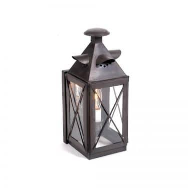 Small Copper Nantucket Lantern – Electrified