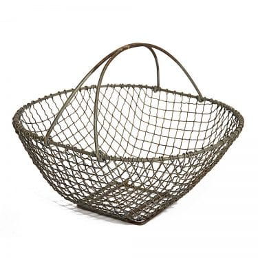 Zinc English Wire Basket
