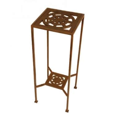 Iron Maze End Table