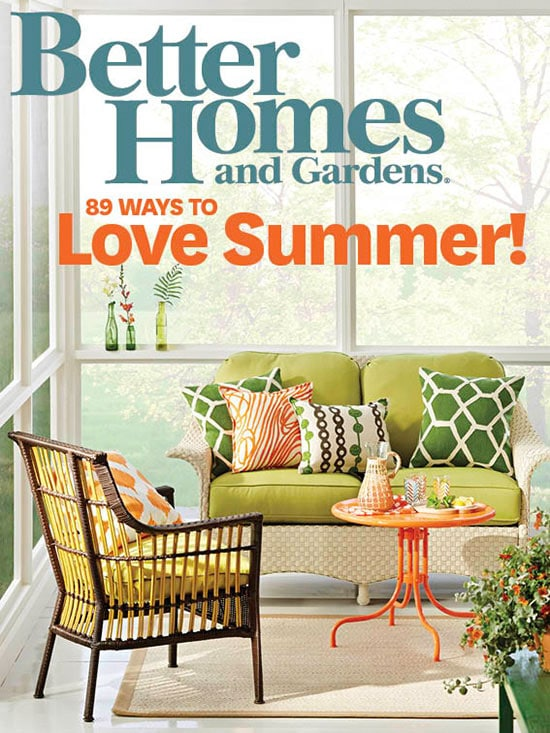 Better Homes Gardens July 2017