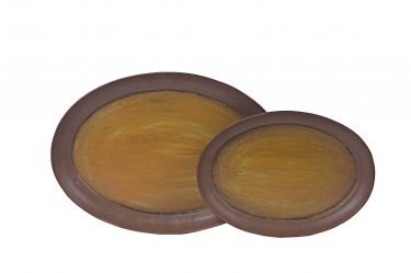 OVAL PLANT SAUCERS