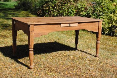 ANTIQUE COUNTRY KITCHEN TABLE/DESK