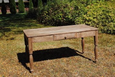 Solid Mesquite Table - 1 Drawer